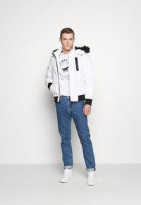 INDICODE JEANS - SMU FRANK - Winter jacket - white - 1