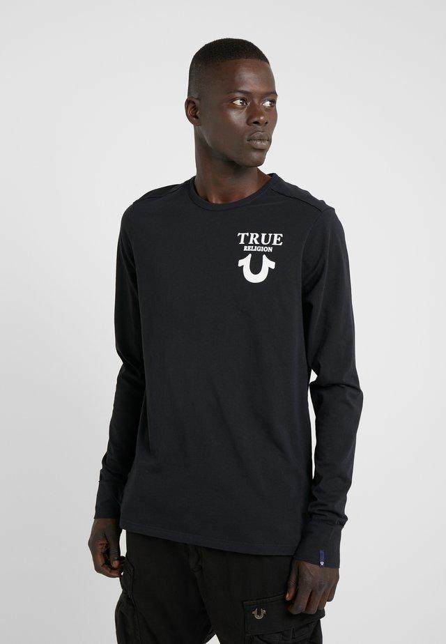 LONGSLEEVE LOGO  - Maglietta a manica lunga - black