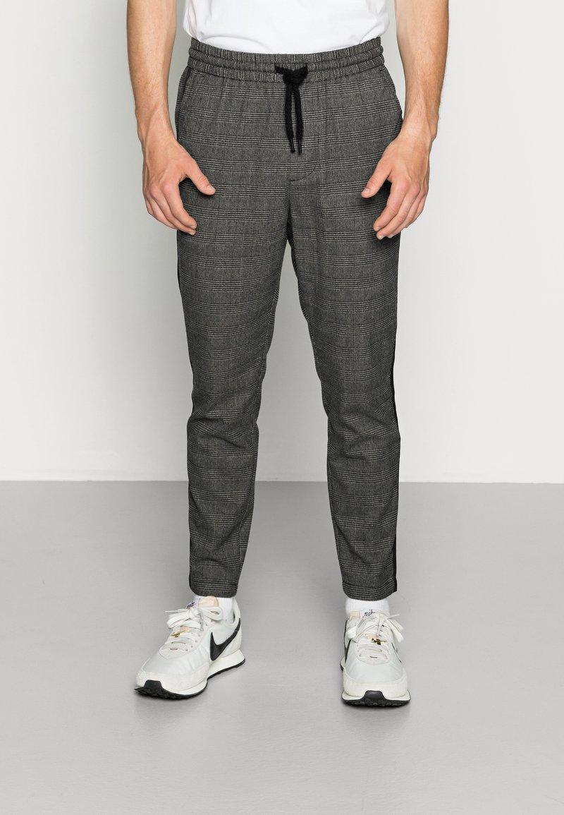 Only & Sons - ONSLINUS PANT CHECKS - Trousers - medium grey melange