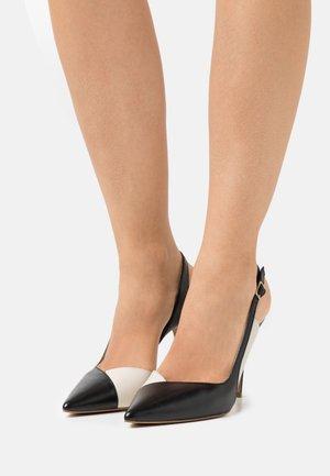 GALISLA - Classic heels - noir/ivoire