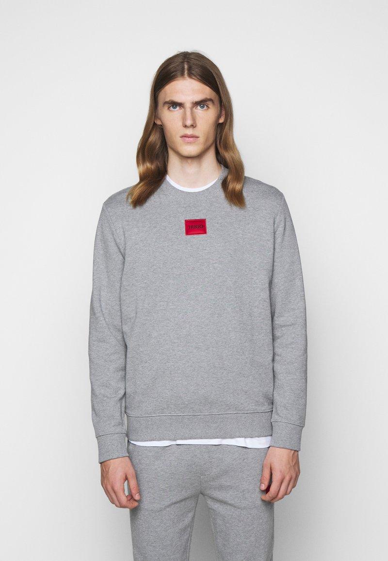 HUGO - DIRAGOL - Sweatshirt - silver