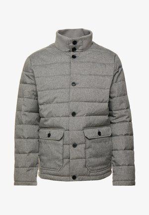 Zimní bunda - mottled dark grey