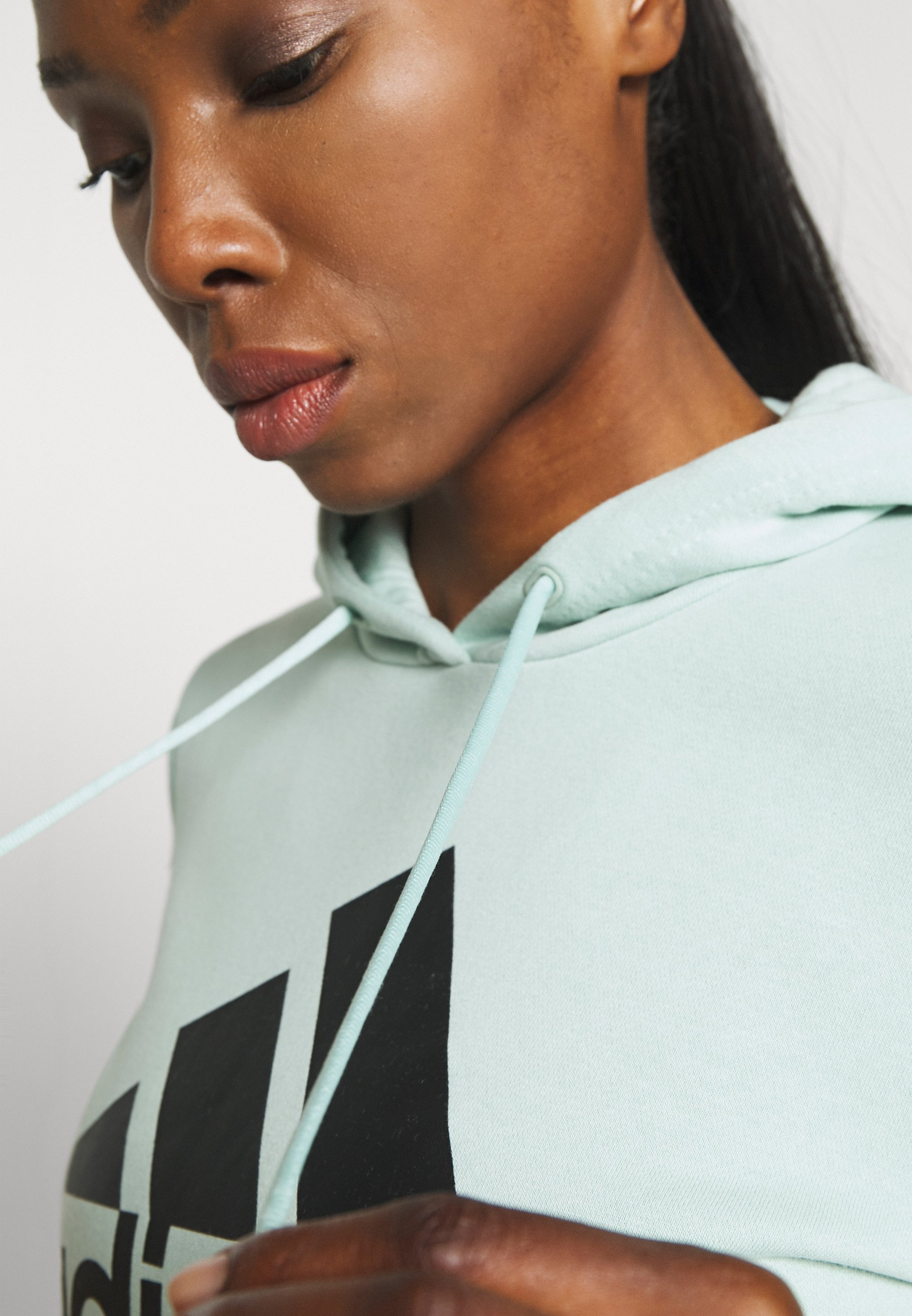 adidas Performance Hoodie - green tint ptnRN