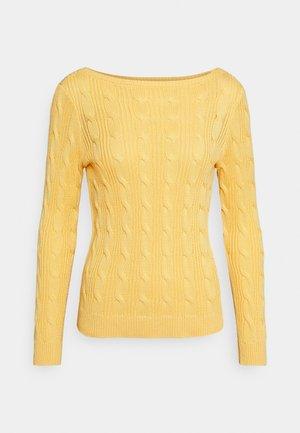GASSED - Svetr - beach yellow
