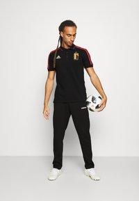 adidas Performance - RBFA BELGIEN  - Klubbkläder - black - 1