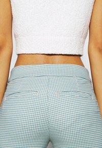 Weekday - KINNI PLEAT TROUSER - Trousers - blue - 3