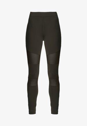 TECH - Leggings - Trousers - darkolive