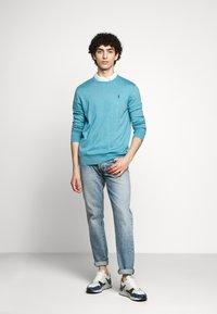 Polo Ralph Lauren - LONG SLEEVE - Pullover - captiva blue heather - 1