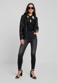 Even&Odd - Faux leather jacket - black - 1