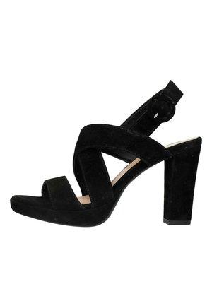 Sandales à talons hauts - schwarz