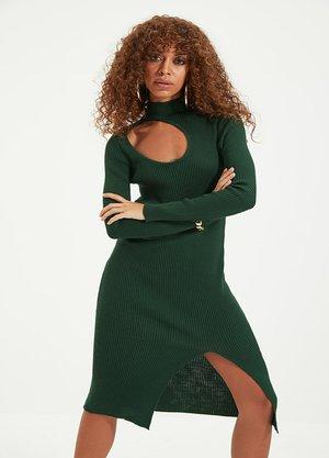 Vestido de punto - green