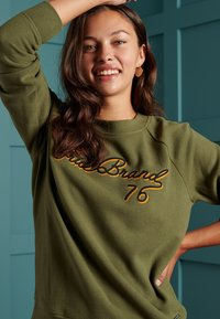 Superdry - SOFT - Sweatshirt - drab overall green - 2