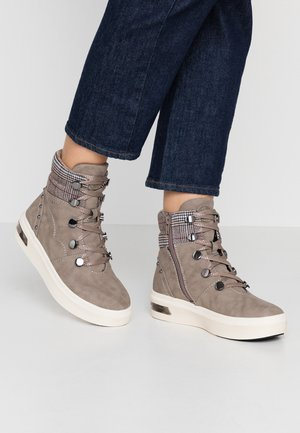 MILKA - Bottines à plateau - taupe/multicolour
