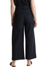Esprit Collection - FASHION CULOTTE - Trousers - black - 4