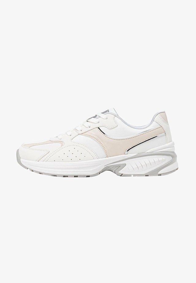 KOMBINIERTER - Sneakers laag - white