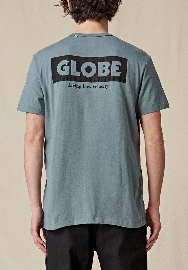 T-shirt imprimé - steel blue