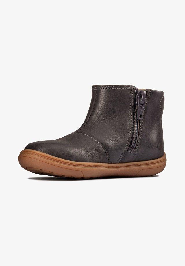 FLASH SEA TODDLER - Classic ankle boots - dunkelgraues leder