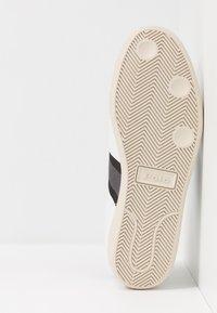 Polo Ralph Lauren - CAMILO - Baskets basses - white/black/grey - 4
