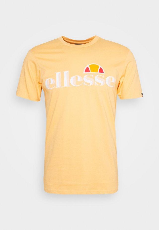 HAREBA - Print T-shirt - light orange