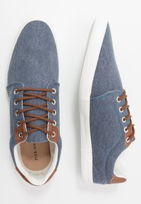 Pier One - UNISEX - Trainers - blue - 1