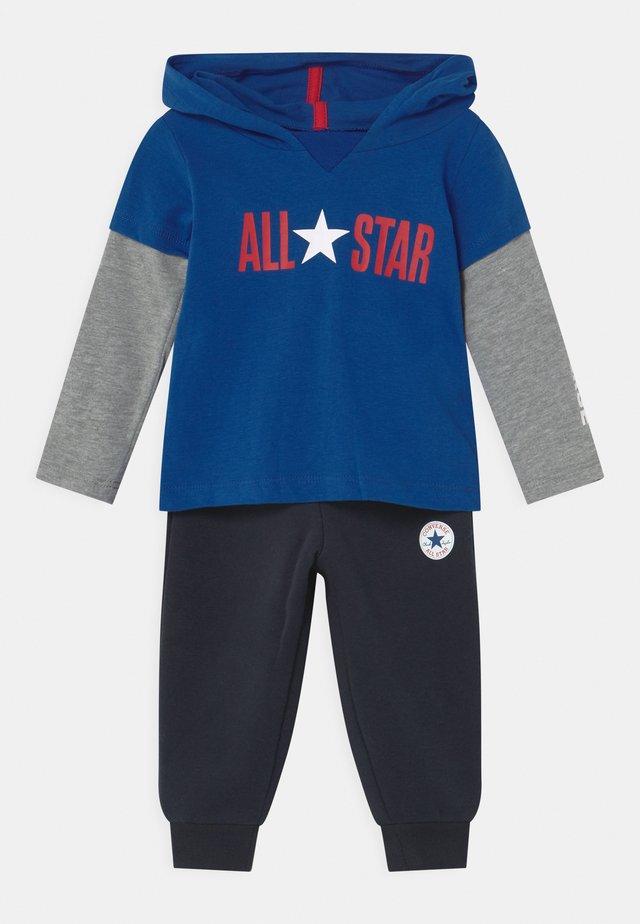 ALLSTAR HOODIE SET UNISEX - Tracksuit - converse blue