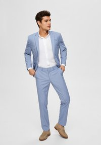 Selected Homme - Suit trousers - colony blue - 1