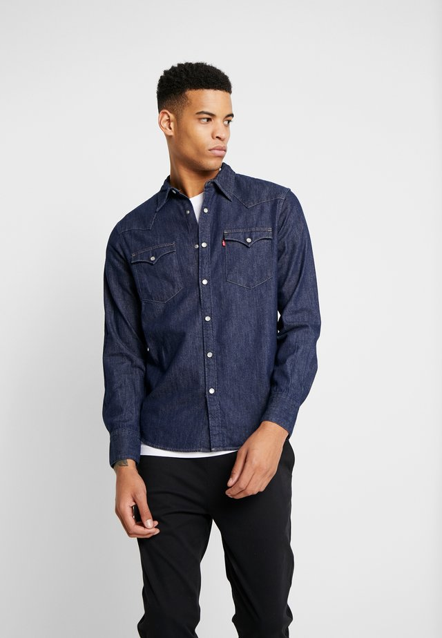 BARSTOW WESTERN STANDARD - Shirt - red cast rinse marbled