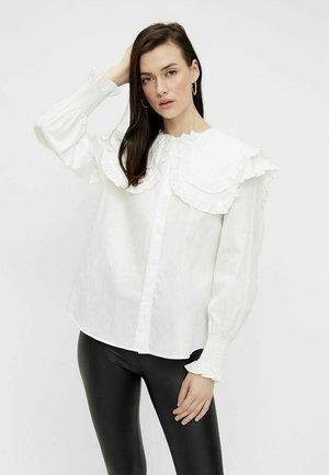 LANGÄRMELIG - Blusa - bright white