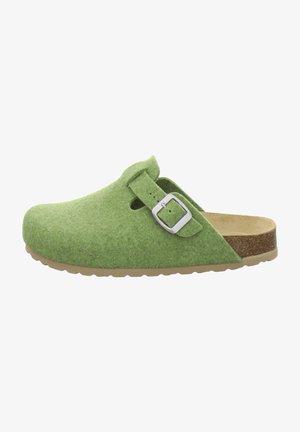 FILZHAUSSCHUH - Slippers - grün