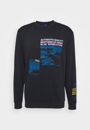 JORDHARONA CREW NECK - Sweatshirt - black