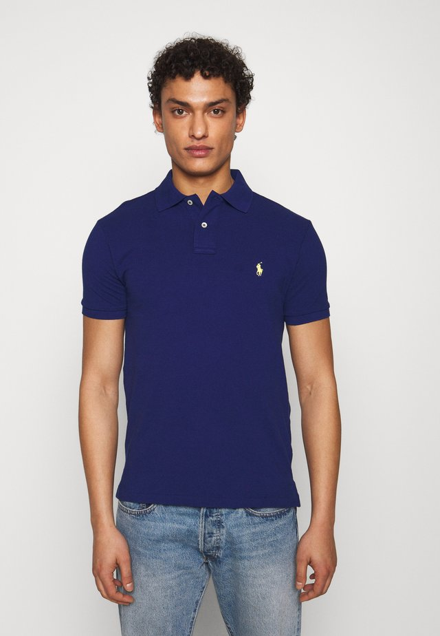 SHORT SLEEVE KNIT - Poloshirt - fall royal
