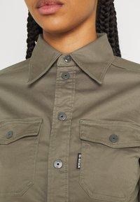 G-Star - KICK BACK - Button-down blouse - cavalry - 5