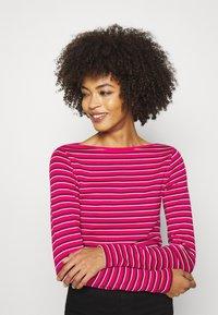 GAP - BATEAU - Maglietta a manica lunga - pink stripe - 3