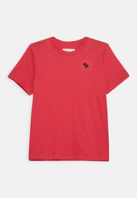 Abercrombie & Fitch - CREW 3 PACK  - Print T-shirt - blue/white/red - 1