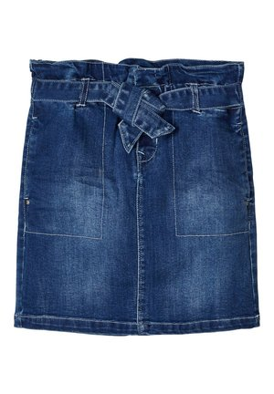 Jeansrok - medium blue denim