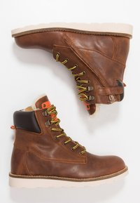 Hip - Lace-up ankle boots - chestnut - 0