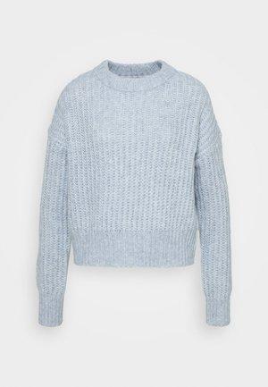 ONLNEW CHUNKY - Pullover - blue fog/melange
