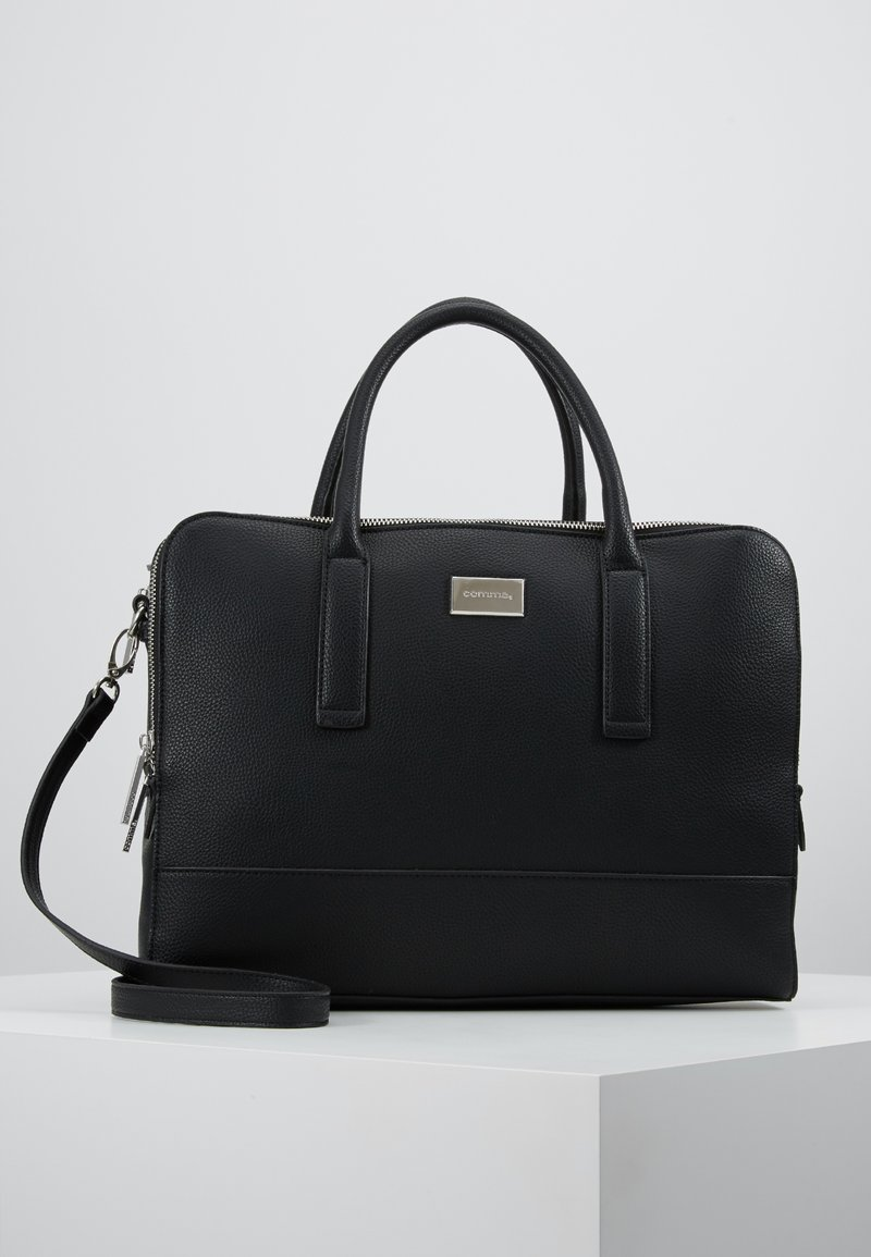 comma - PURE ELEGANCE - Laptop bag - black