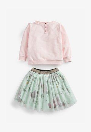 SET - Sweatshirt - pink