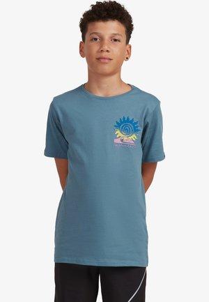 Print T-shirt - captains blue