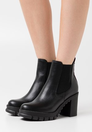 MARLEE - High heeled ankle boots - black