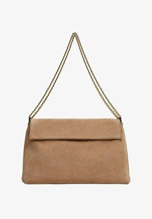Handbag - sandfarben