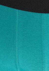 Pier One - 5 PACK - Pants - black/dark blue/teal - 6