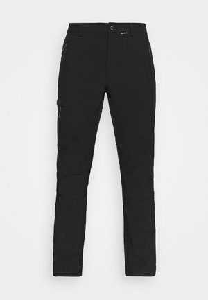 BOUTON - Outdoor trousers - black