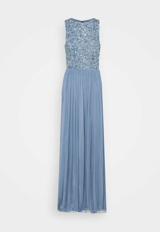 PICASSO MAXI - Gallakjole - dusty blue