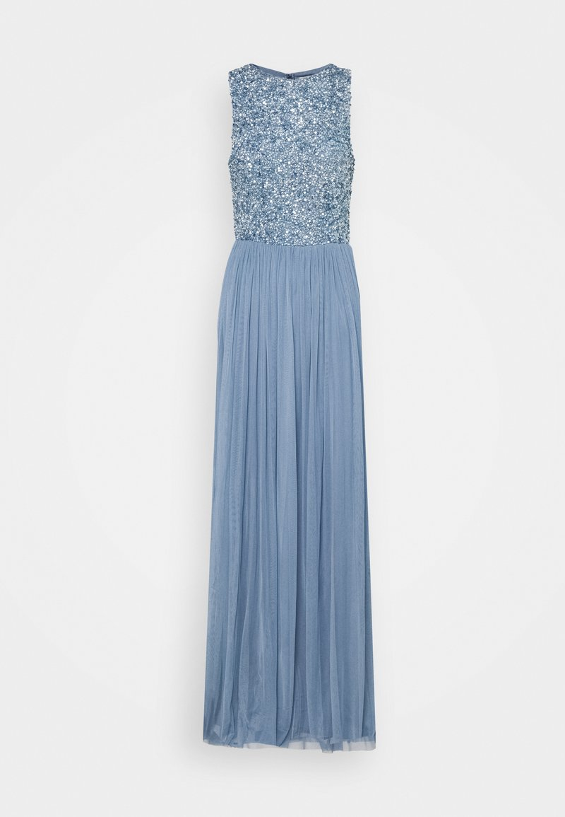 Lace & Beads Tall - PICASSO MAXI - Galajurk - dusty blue