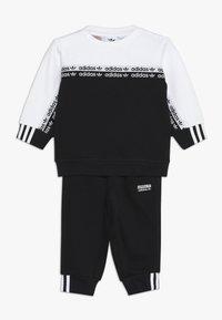 adidas Originals - CREW SET - Sudadera - black/white - 0