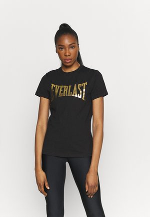 BASIC TEE LAWRENCE - Printtipaita - black