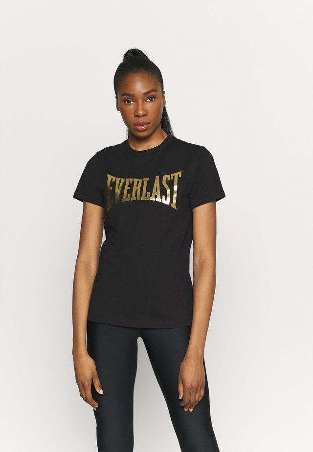 BASIC TEE LAWRENCE - T-shirt print - black