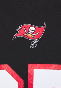 Fanatics - NFL ROB GRONKOWSKI TAMPA BAY BUCCANEERS ICONIC NAME NUMBER - Print T-shirt - black
